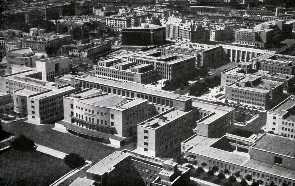 The new campus of the Sapienza University in Rome (1938)